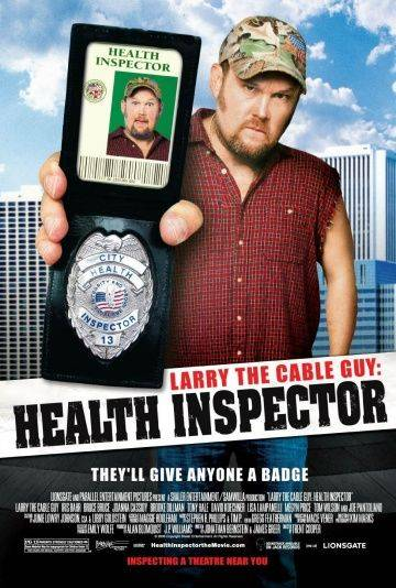 Санинспектор / Larry the Cable Guy: Health Inspector (2006)