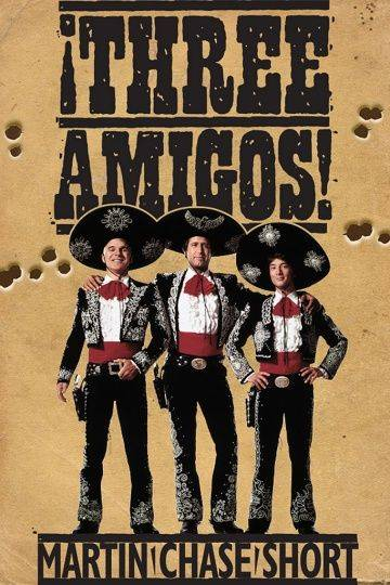 Три амигос! / &ixcl;Three Amigos! (1986)