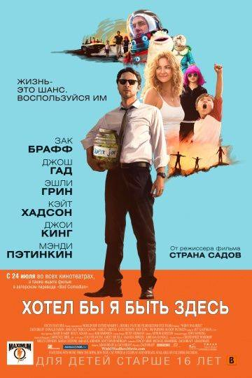 Хотел бы я быть здесь / Wish I Was Here (2014)