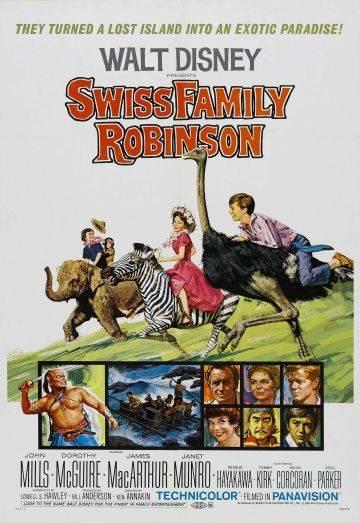 Швейцарская семья Робинзонов / Swiss Family Robinson (1960)